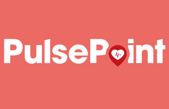 pulse point red and white logo