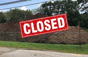 yard waste transfer site closed